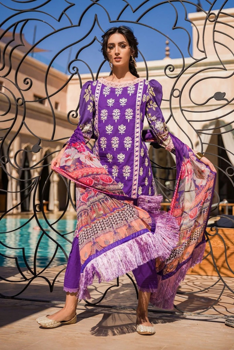 Sobia Nazir Vital Lawn 2020 Collection – 5B