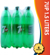 7UP 1.5 Liters, 6 Pieces