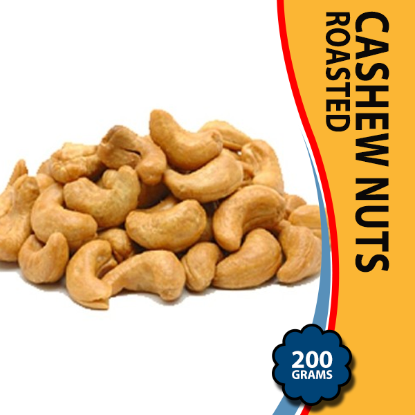 Cashew Nuts Roasted – 200 Grams