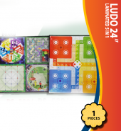 Laminated Ludo 5 in 1 (24 Inch)