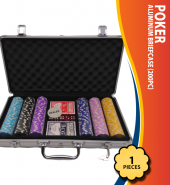Poker Aluminum Briefcase (200Pc)