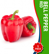 Bell Pepper (Red) – Per Piece