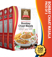 Bombay Chaat Masala Masala 100g pack of 3