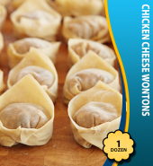 Chicken Cheese Wontons (1Dz)