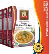 Creamy Butter Chicken Masala pack of 3
