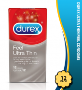 Durex Ultra Thin Feel Condoms Pack of 12