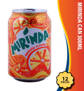 Mirinda Can 300ml, 12 Pieces