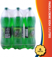 Pakola Creme Soda 1.5 Liters, 6 Pieces