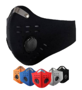 Sport Mask with Filter and Dual Valve